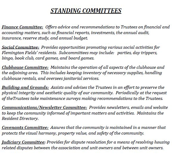 picture Standing Committees
